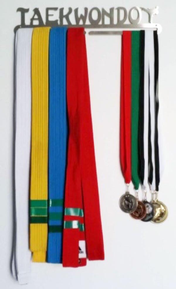 Taekwondo Medal Display Hanger