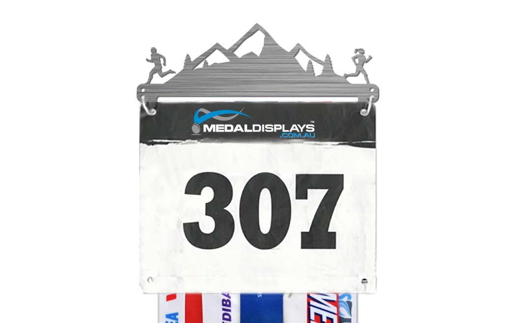 Race Bib Display for Runners™ V2.0 - Trails™