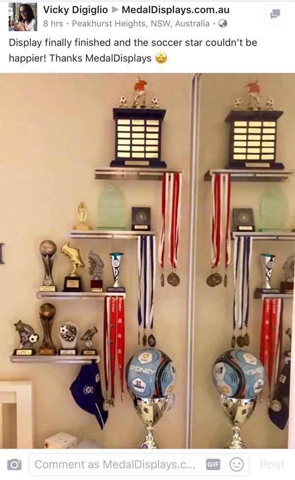Trophy Shelf Medal Display Hanger