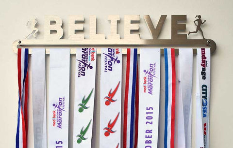 Race Medal Display Hanger - Believe™
