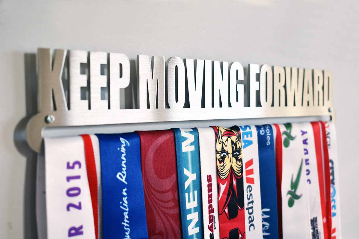 Medal Display Hanger - Keep Moving Forward™