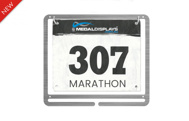 Medal & Race Bib Combo Display™