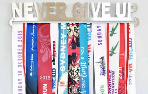 Medal Display Hanger - Never Give Up™