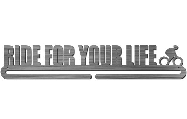 Medal Display Hanger - Ride For Your Life (Cycling)™