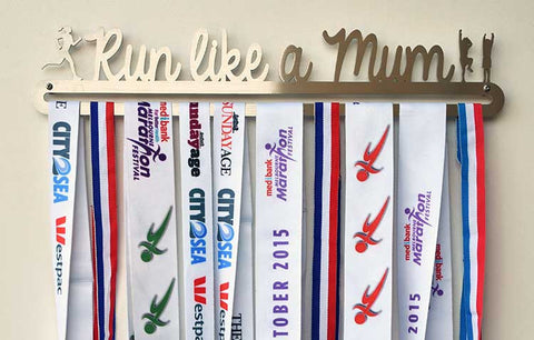 Running Race Medal Display Hanger - Run Like a Mum™