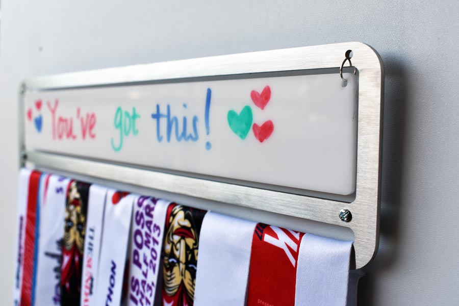 Medal Display Hanger with Whiteboard™