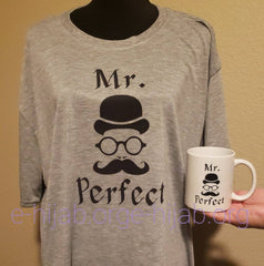 Mr. Perfect T-shirt & Mug