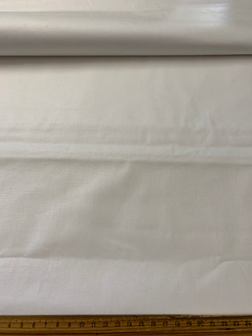 Actil MCM mid-century super thick white cotton sheeting FQ+