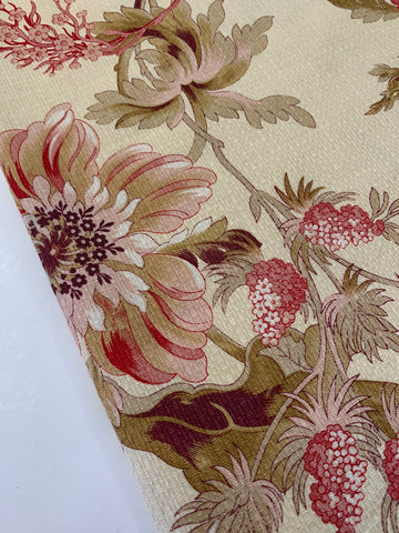 1/2m ONLY: American Folk and Fabric Antique Collection Belgrave Floral 2002