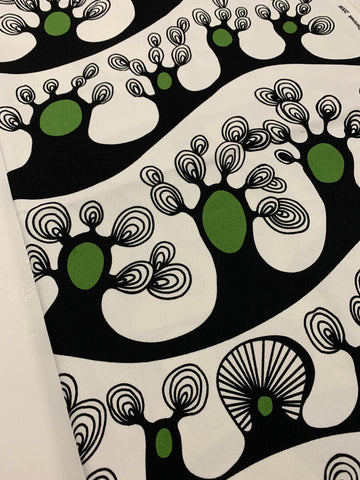 LAST PIECE: Cilla Ramnek 2008 Ikea Scandi trees cotton duck