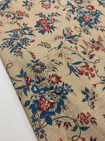 1/2m LEFT: Modern VIP quilt cotton w/ Oriental influence