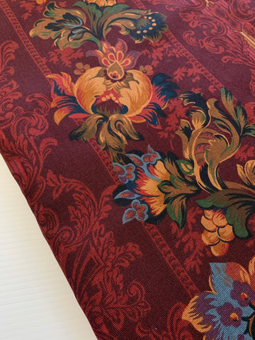 4m LEFT: Rich luxe Cohama Riverdale Limoges upholstery 1990