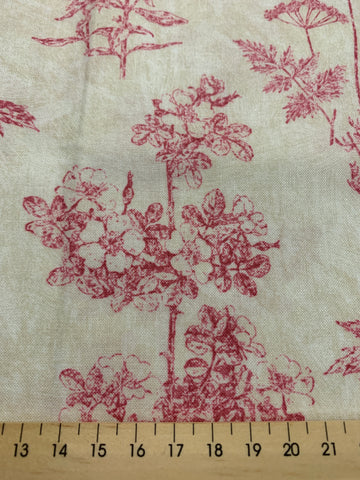 1/2m LEFT: Anne Rowan Tivoli Garden quilt cotton