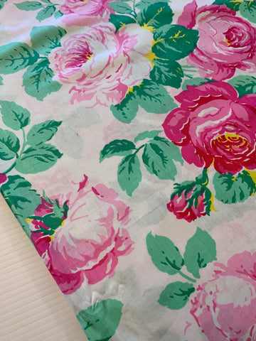 1.5m LEFT: Stunning peonies? roses? Cath Kidston? light weight cotton