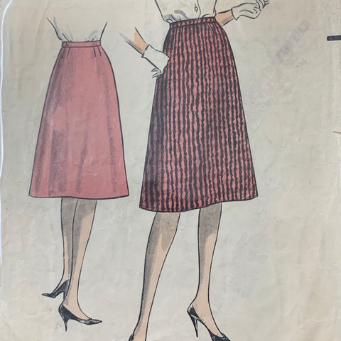 "Weigel's 1950s skirt size 26"" size 8 *2234"