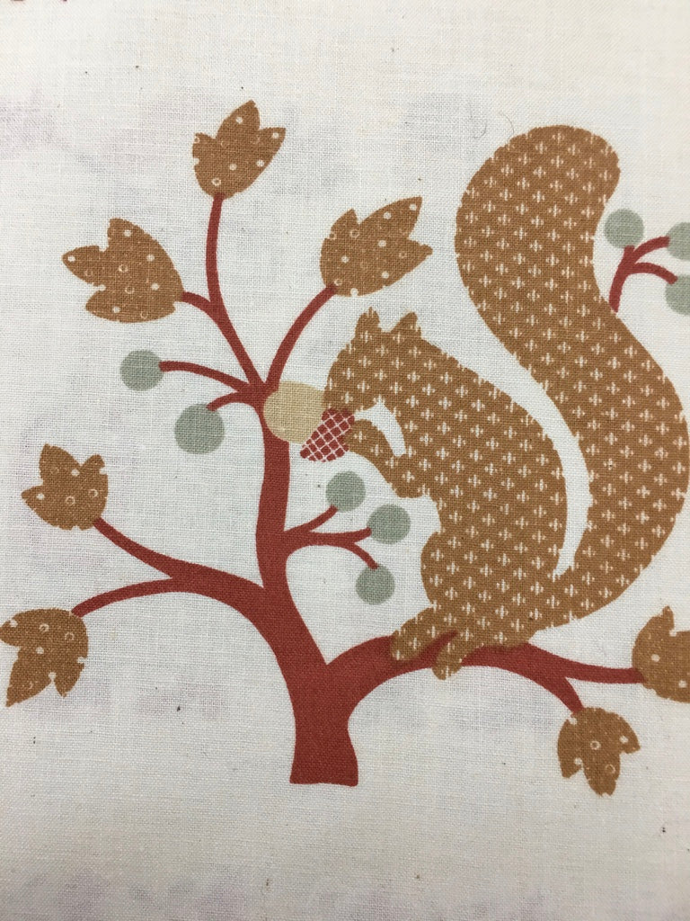 LAST PIECE: Country sweetness 'Prairie' panel by Ameritex 108cm x 44cm