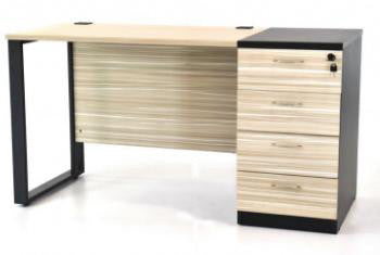 Office desks With Fixed Pedestal - Dolphin Stationers