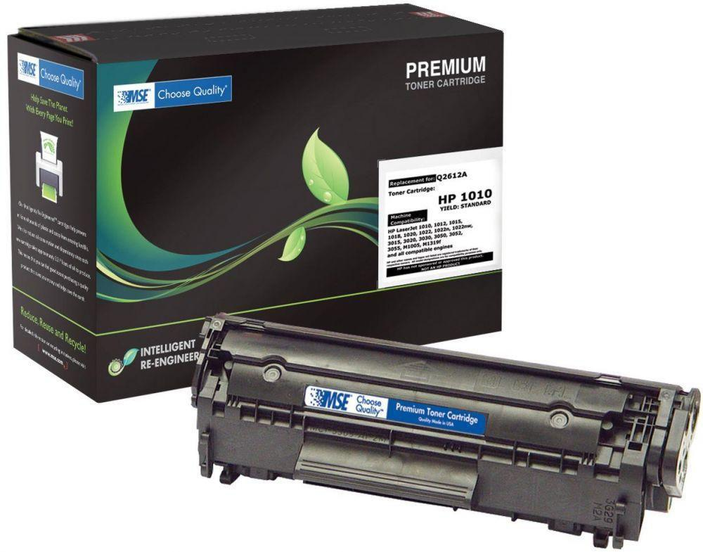 PREMIUM TONER CARTRIDGE MSE Q2612A  (12A) BLACK - Dolphin Stationers