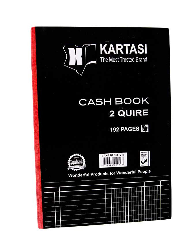 Cash Book, 2 Quire A4 - Dolphin Stationers