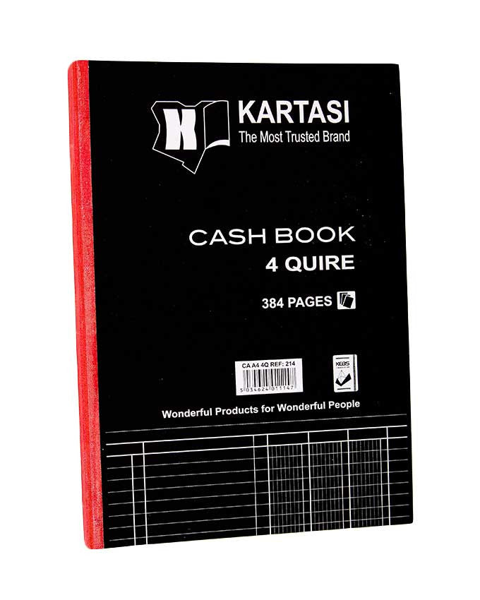 Cash Book, 4 Quire A4 - Dolphin Stationers