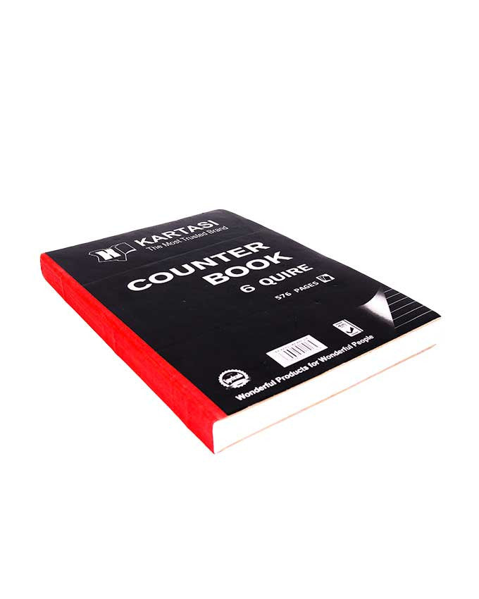 Counter Book, 6 Quire A4 - Dolphin Stationers