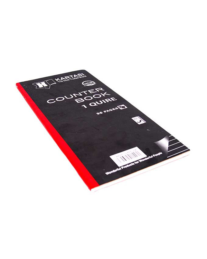 Counter Book, 1 Quire Half Size - Dolphin Stationers