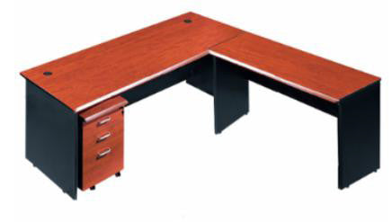L-Shaped Desk - Dolphin Stationers