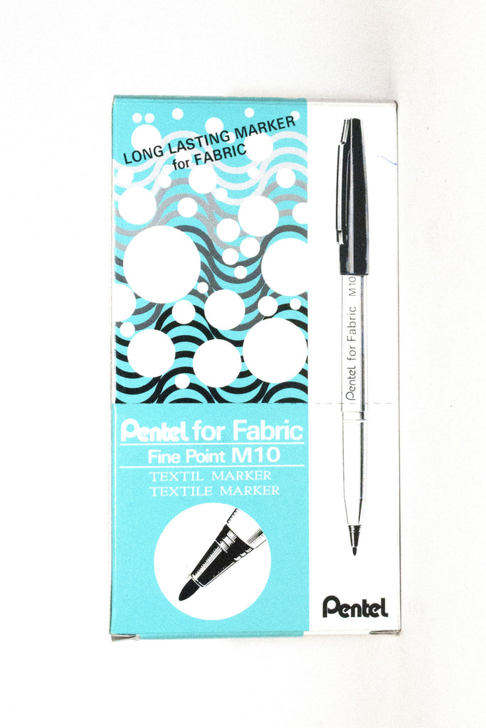 FABRIC MARKER PENTEL M10 - Dolphin Stationers