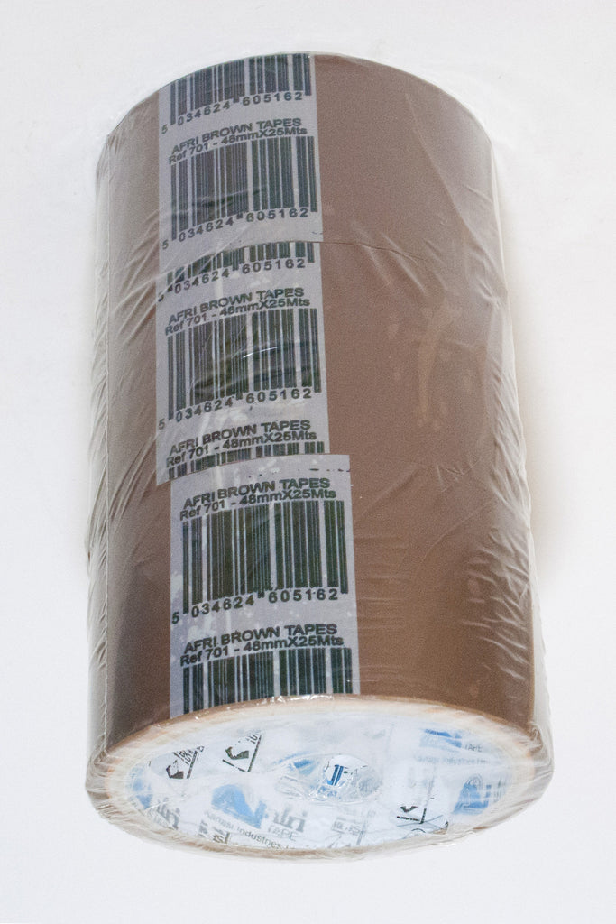 Brown Tape (48mmx25mts) - Dolphin Stationers