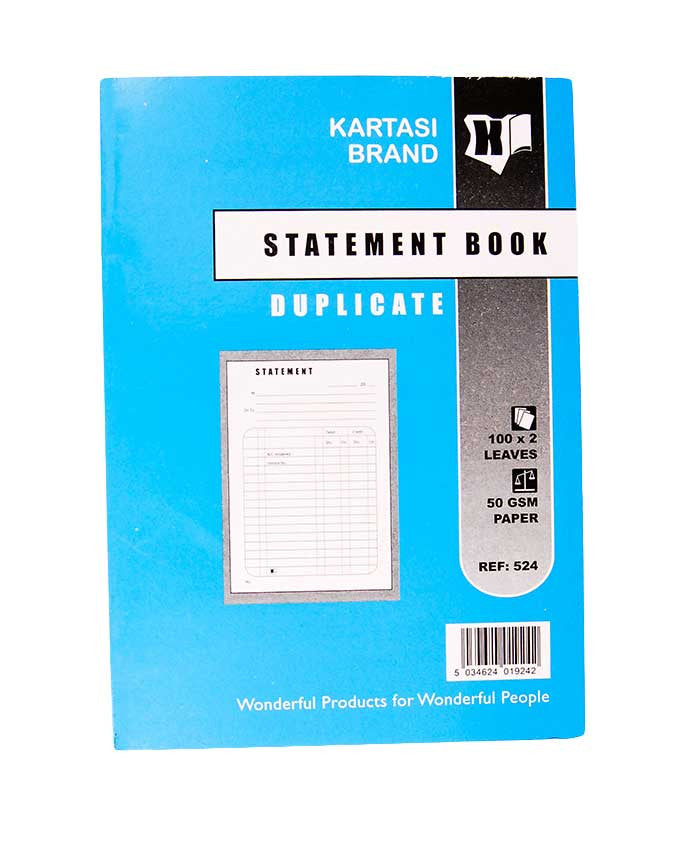 Statement Book, A5 Duplicate - Dolphin Stationers
