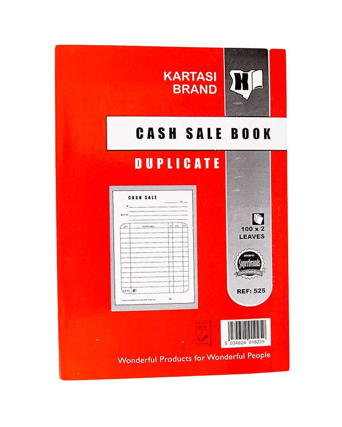 Cash Sale Book, A5 Duplicate - Dolphin Stationers