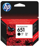 HP 651 BLACK INK CARTRIDGE - Dolphin Stationers