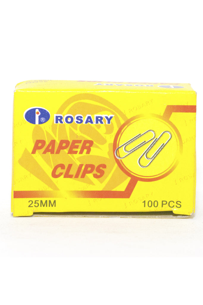 Paper Clips 25mm - Dolphin Stationers