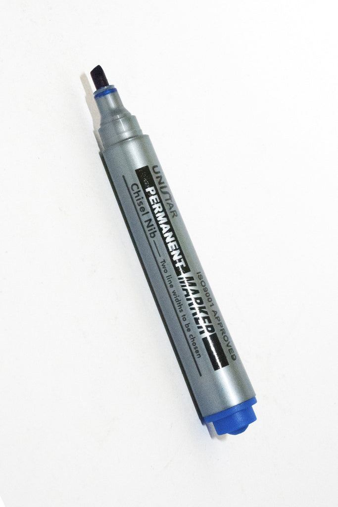 Permanent Marker, Chisel Tip - Dolphin Stationers