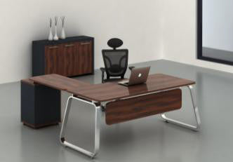 Executive Office Desk with Pedestal - Dolphin Stationers