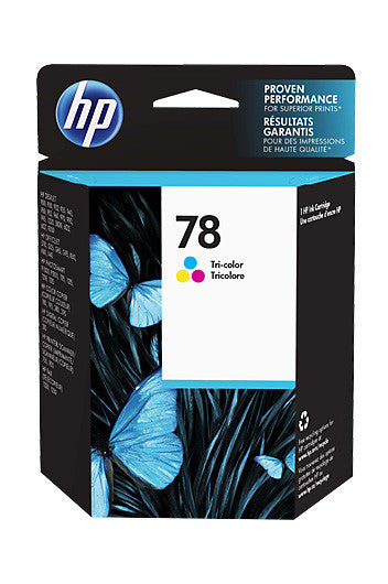 Ink Cartridge, HP 78 Tri Colour - Dolphin Stationers