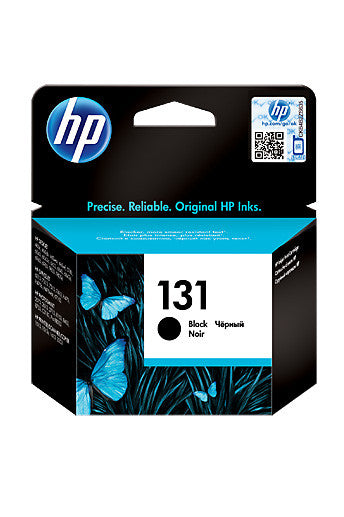 Ink Cartridge, HP 131 Black - Dolphin Stationers
