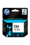 Ink Cartridge, HP 134 Tri Colour - Dolphin Stationers