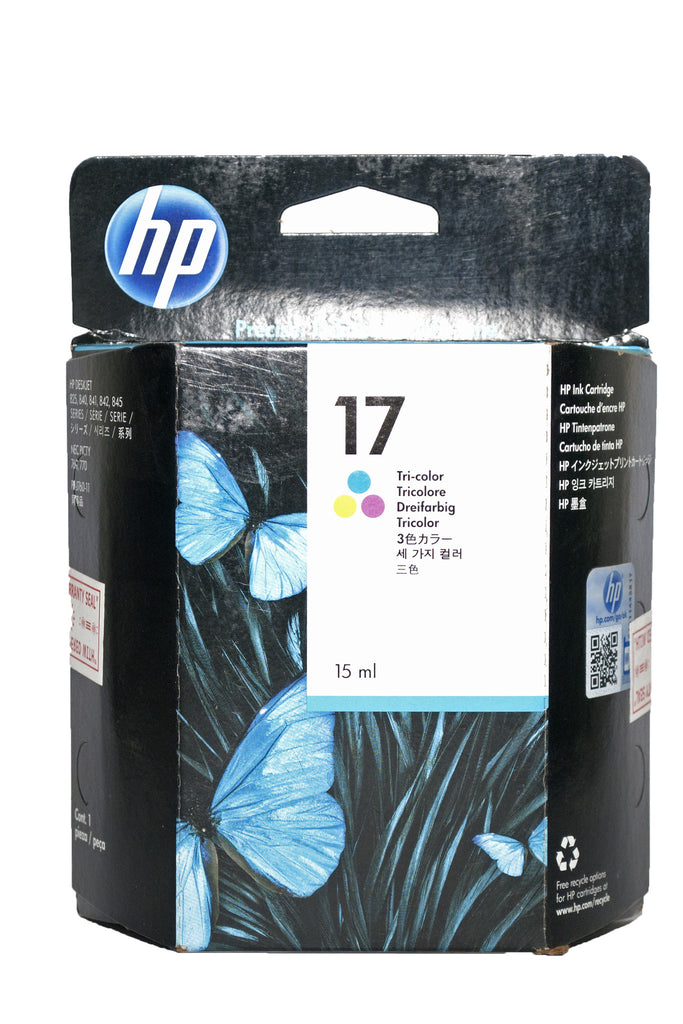 Ink Cartridge, HP 17  Tri Colour - Dolphin Stationers