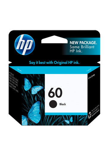 Ink Cartridge, HP 60 Black - Dolphin Stationers
