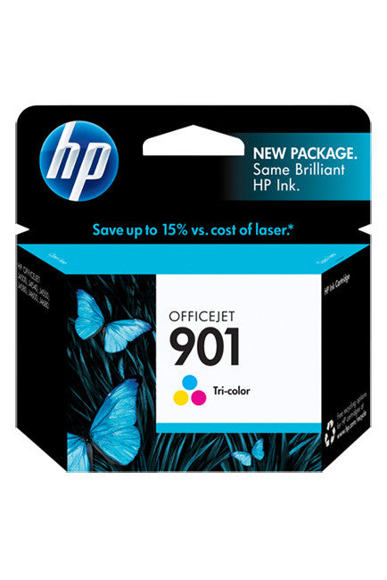 Ink Cartridge, HP 901 Tri Colour - Dolphin Stationers