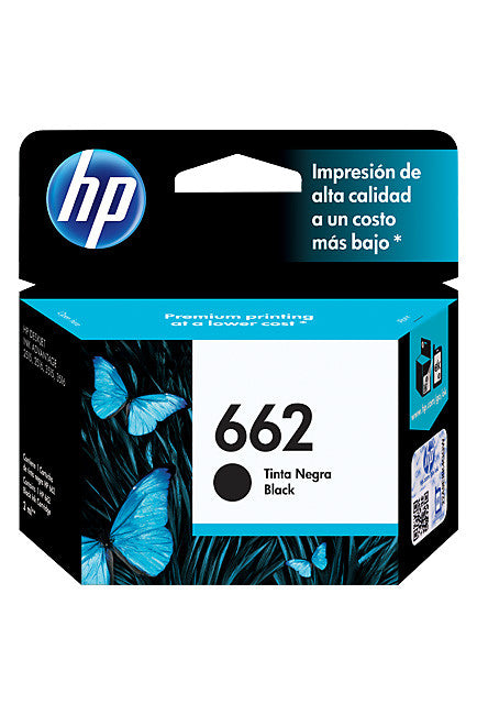 Ink Cartridge, HP 662 Black - Dolphin Stationers