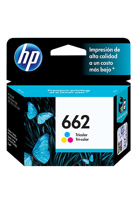 Ink Cartridge, HP 662 Tri Colour - Dolphin Stationers