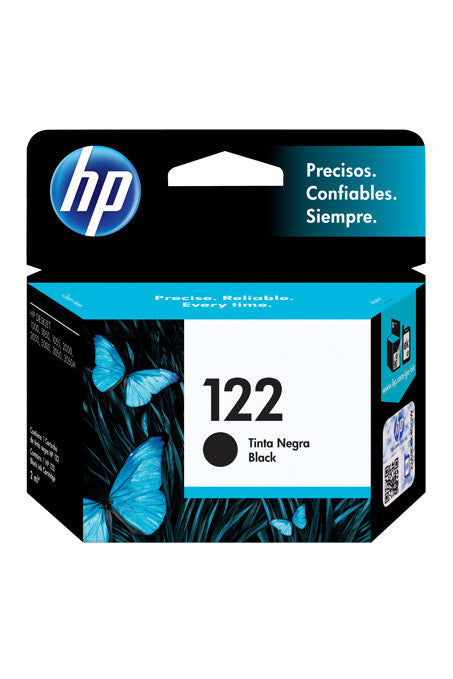 Ink Cartridge, HP 122 Black - Dolphin Stationers