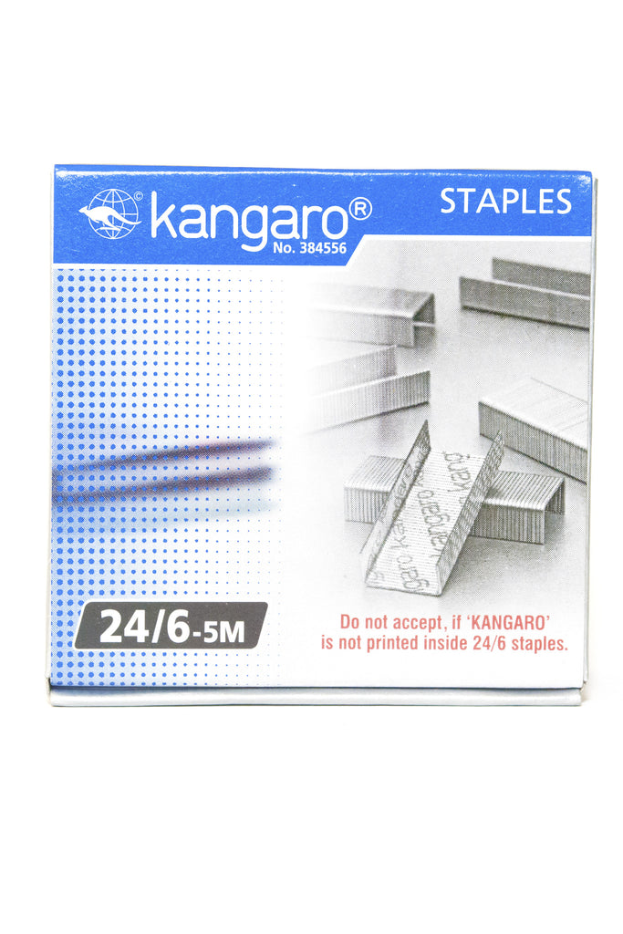 Staple Pins 24/6-5M - Dolphin Stationers