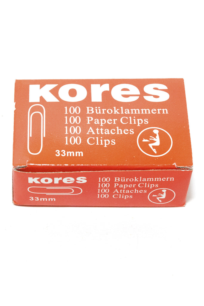 Paper Clips  33mm - Dolphin Stationers