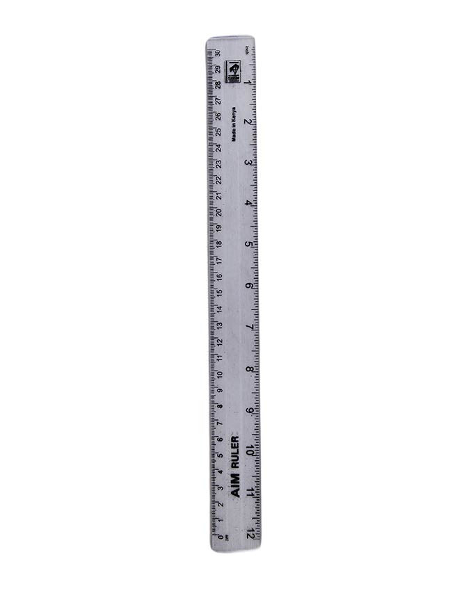 Ruler 30cm - Dolphin Stationers