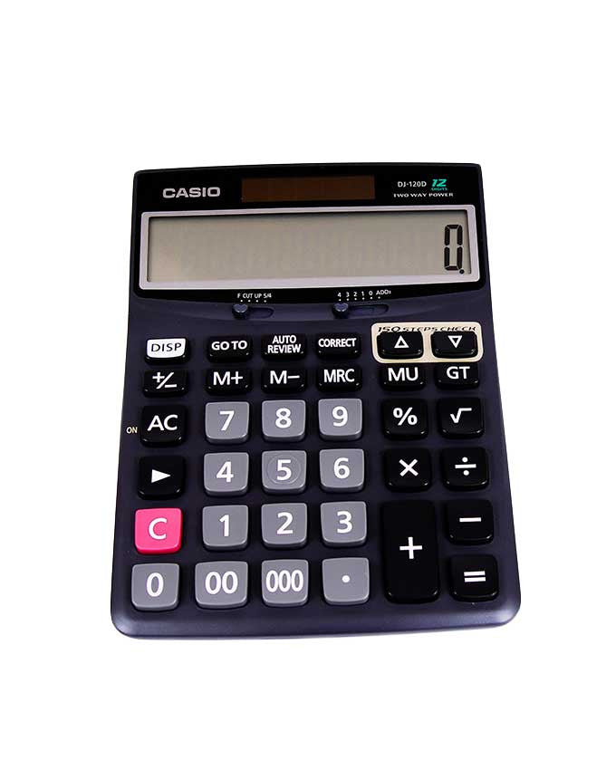 Desk Calculator DJ-120D - Dolphin Stationers