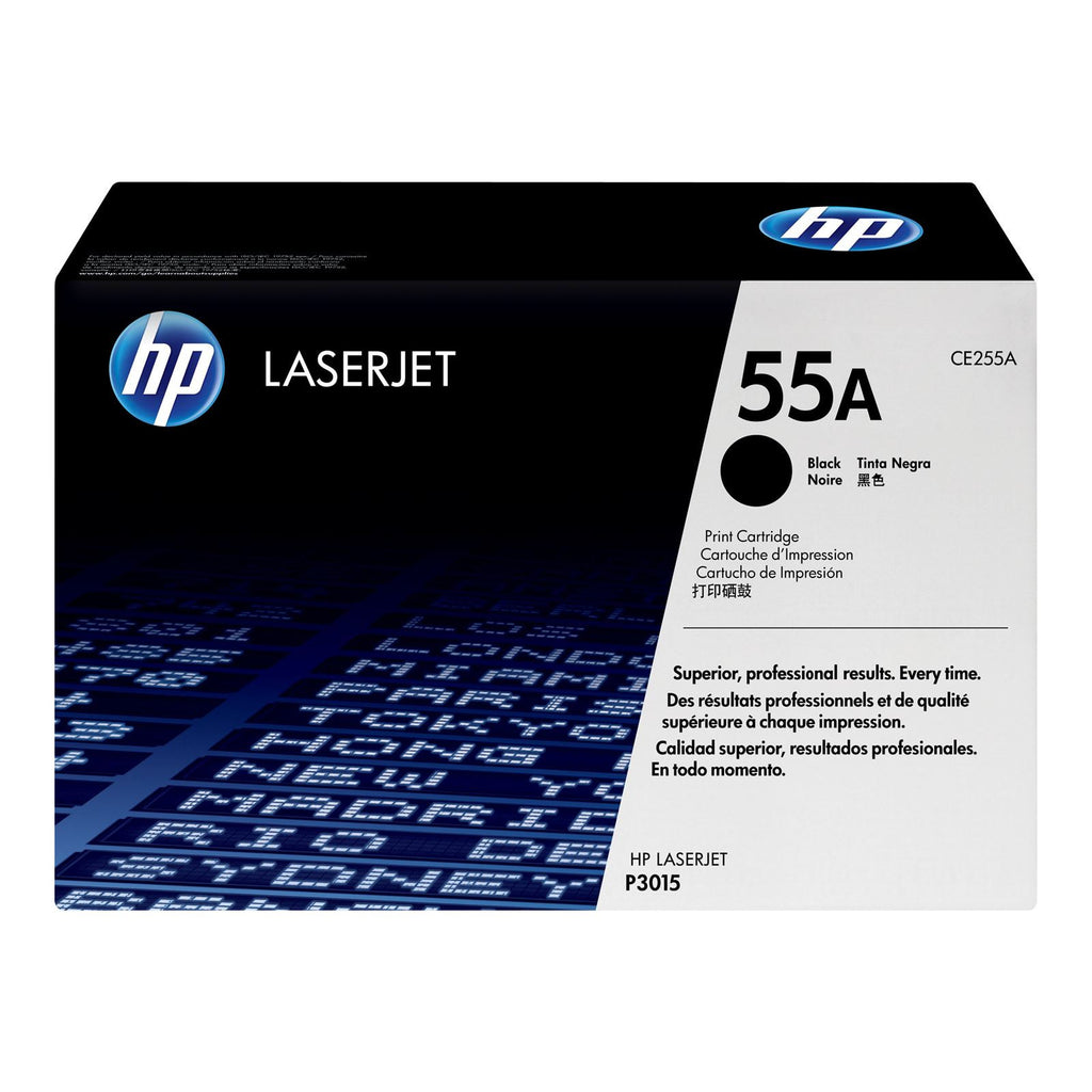 LaserJet Toner Cartridge, HP 55A Black - Dolphin Stationers