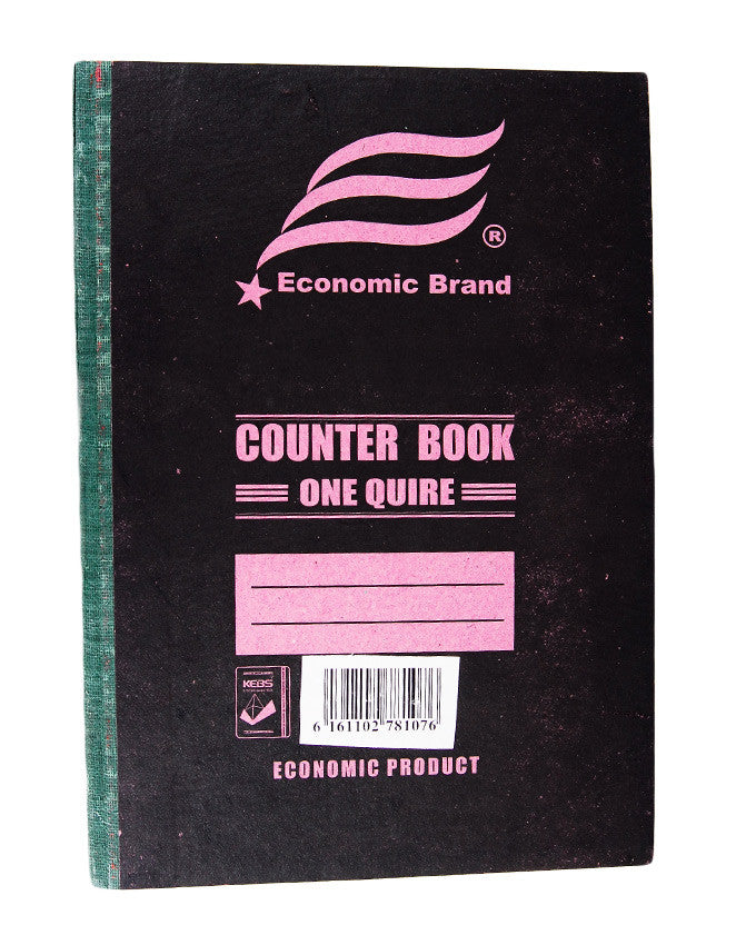 Counter Book, 1 Quire A4 - Dolphin Stationers